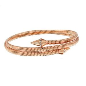 Vince Camuto Coil with Pave Cone Bracelet